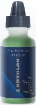 Déguisements Fard Kryolan Air Stream Matt Green