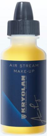 Déguisements Fard Kryolan Air Stream Matt Yellow