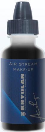 Déguisements Fard Kryolan Air Stream Matt Black