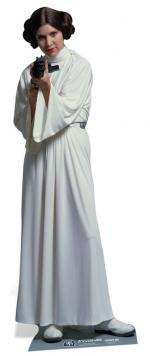Figurine Géante Carton Leia