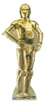 Figurine Géante Carton Droide Z-6PO