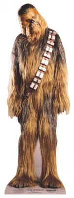 Figurine Géante Carton Chewbacca
