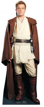 Figurine Géante Carton Obi Wan Kenobi