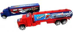 Camions citernes ou containers assortis rétrofriction