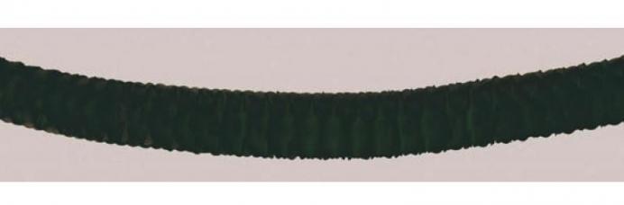 guirlande noire en papier ignifuge