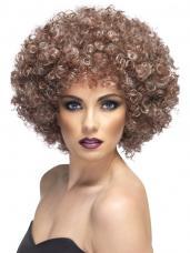 perruque afro effet naturel