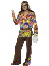 costume hippie psychedelique