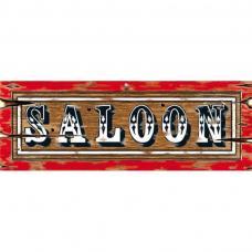 decoration enseigne saloon