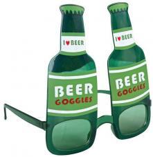 lunette saint patrick bouteille de biere