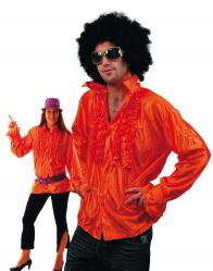 Chemise Disco Orange pas cher