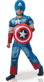 Déguisement Captain America Enfant Luxe Winter Soldier