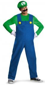 Déguisement Luigi Adulte Deluxe
