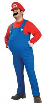 Déguisement Mario Adulte