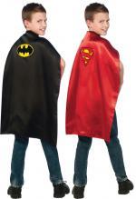 Cape Réversible Batman/Superman