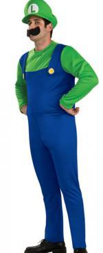 Déguisement Luigi Adulte