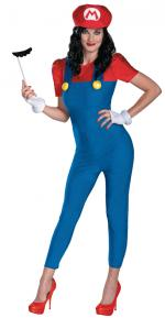 Déguisement Mario Femme Deluxe