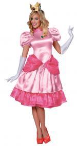 Déguisement Princesse Peach Deluxe Femme