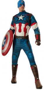 Déguisement Luxe Captain America Avengers 2 Adulte