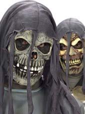 Masque squelette et tête de mort halloween