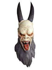 Masque démon et momie halloween