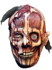 Masque horreur, monstre et tête ensanglantée pour  halloween