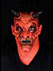 Maquillage Diable Halloween