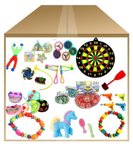 Lot de 150 jouets pour kermesse pas cher