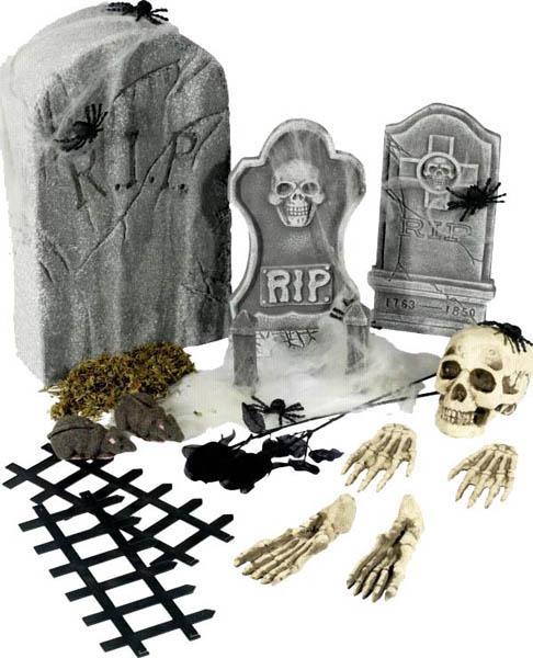 Kit décorations cimetière pas cher