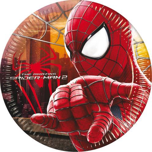 Assiettes Spiderman Carton pas cher