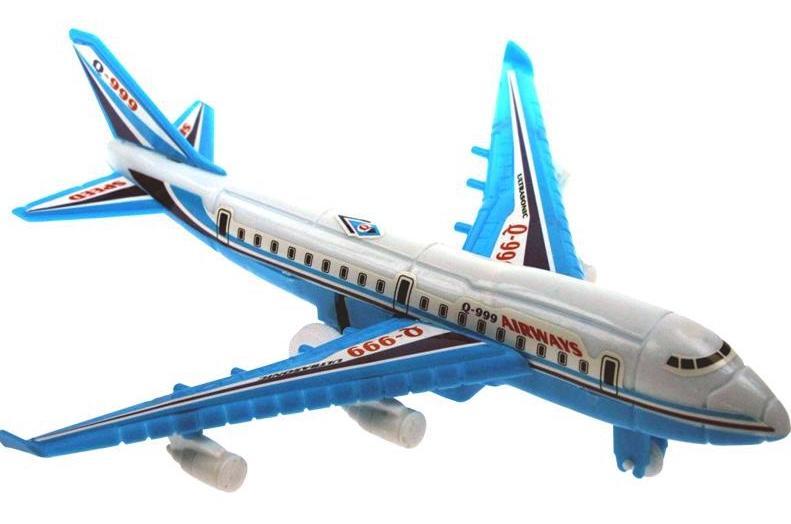 Avion ligne rétrofriction assorti