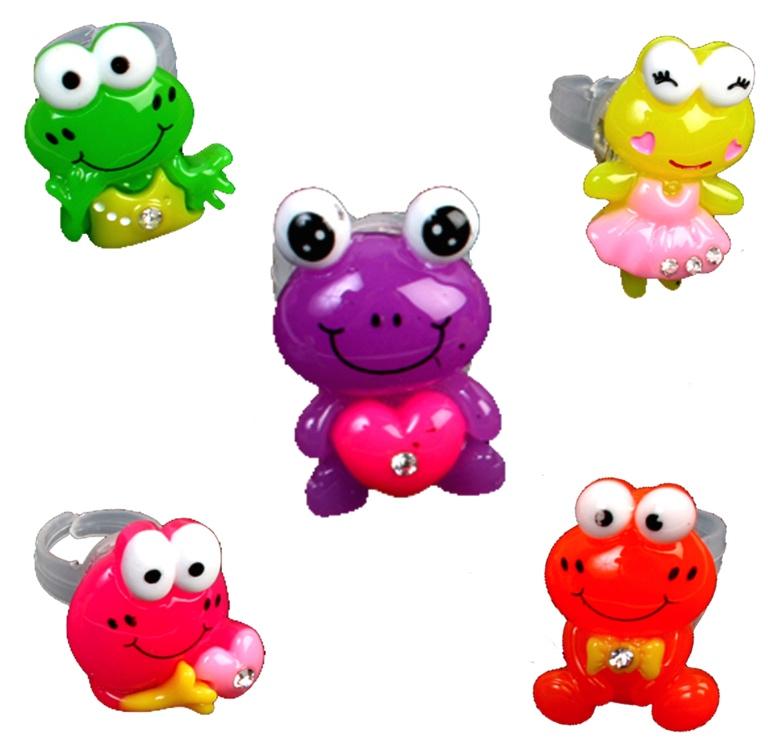 Bague lumineuse grenouille pas cher