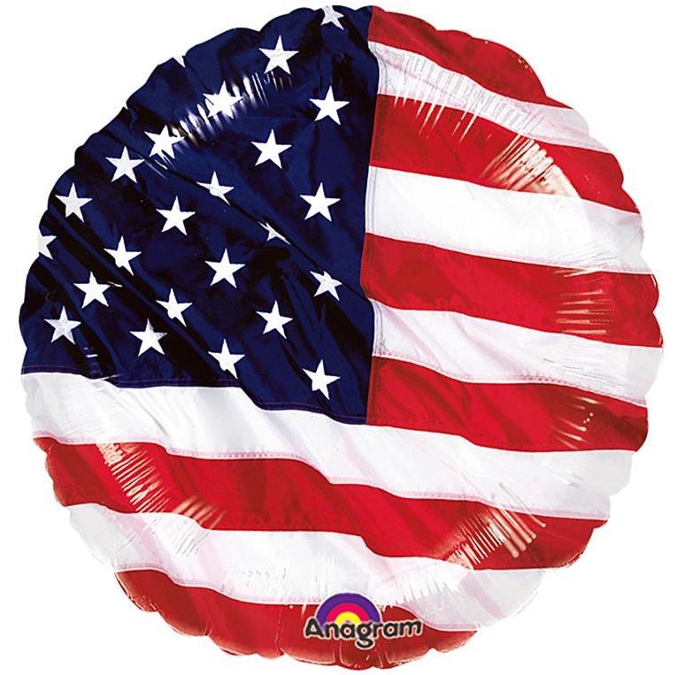 Ballon drapeau USA pas cher