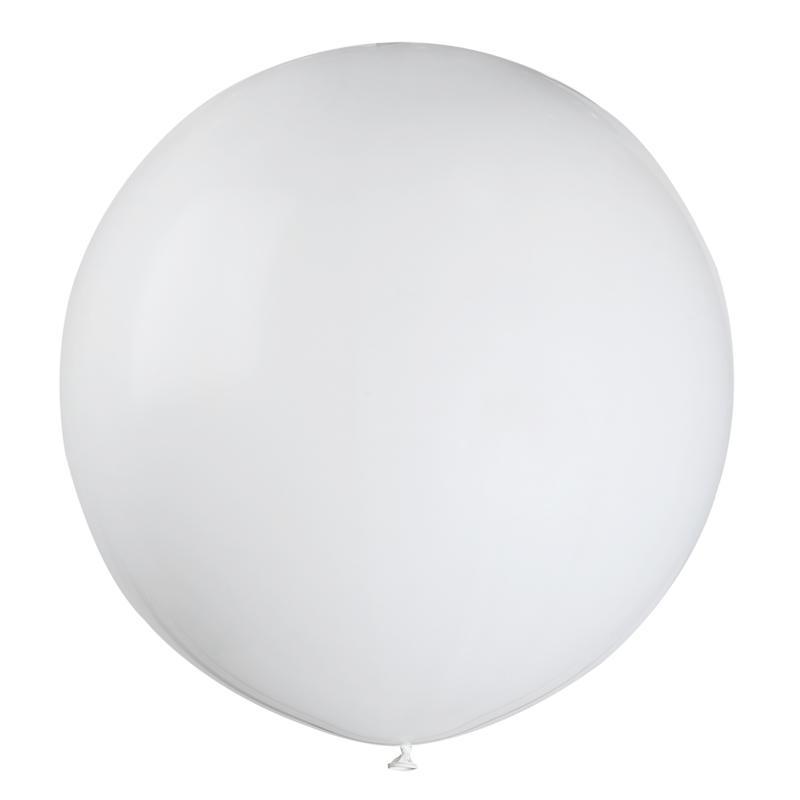 Ballon géant blanc pas cher