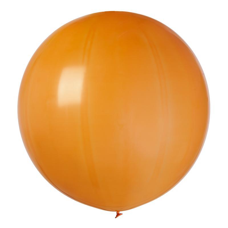 Ballon géant orange pas cher