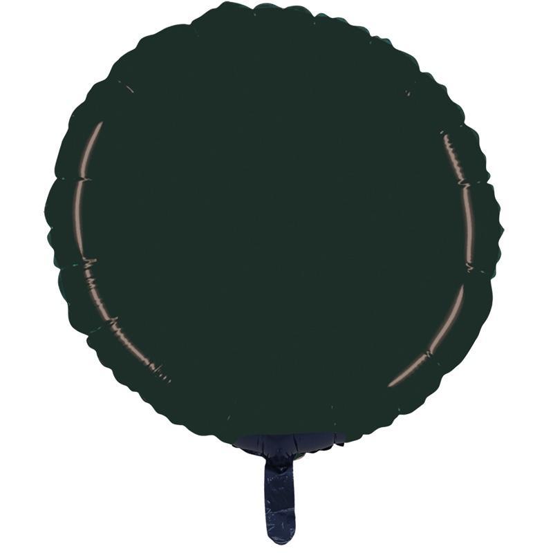 Ballon mylar rond noir pas cher