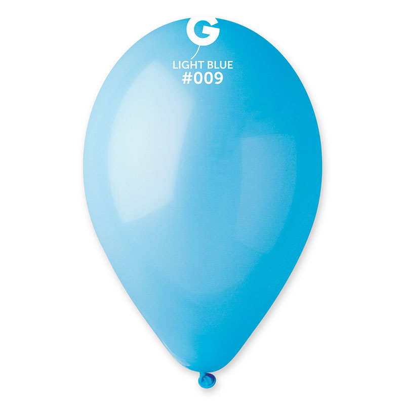 Ballons bleu pastel pas cher
