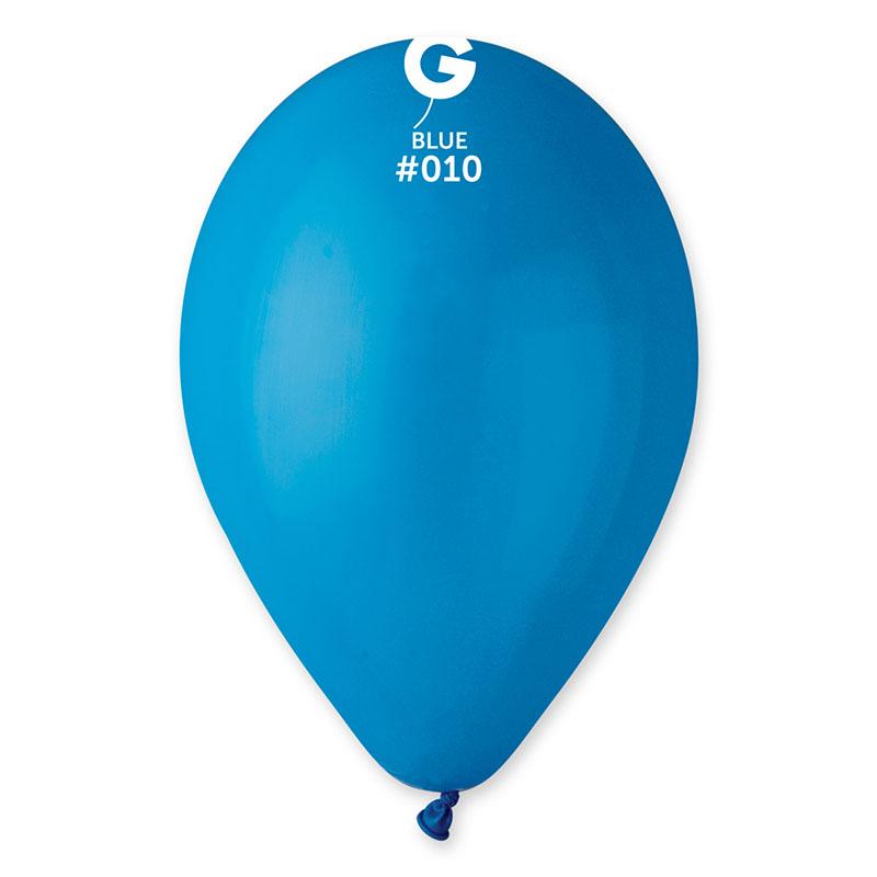 Ballons bleus biodégradables pas cher