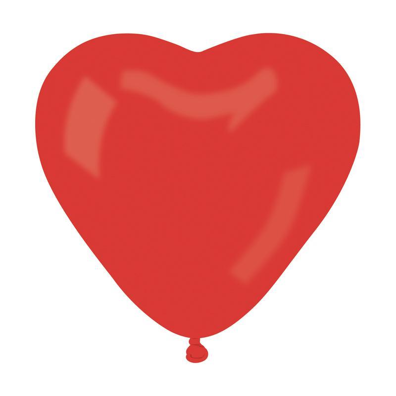 Ballons coeur rouge géant pas cher