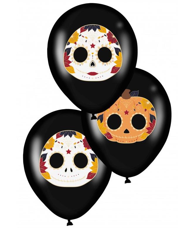 Ballons Dia de los Muertos pas cher