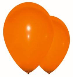 Sachet de ballons gonflables orange 1er prix