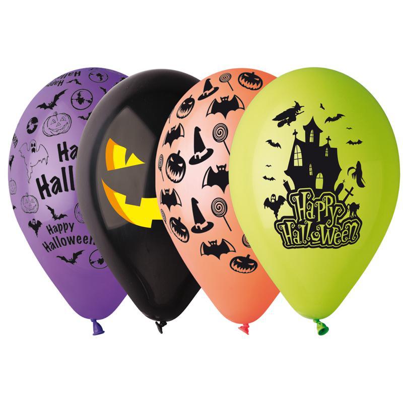 Ballons Halloween décorés pas cher pour une décoration Halloween à la perfection
