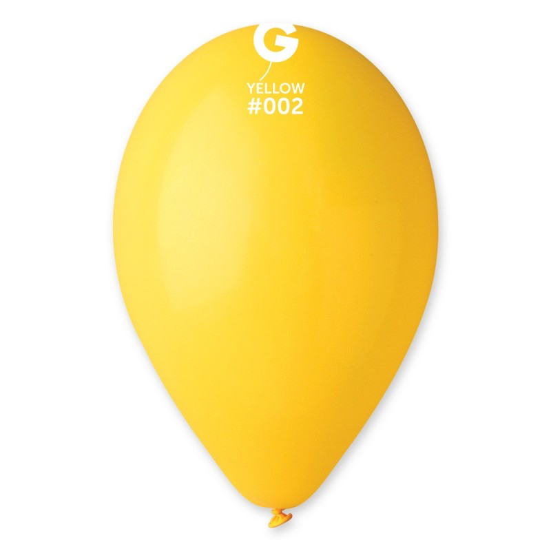 Ballons jaunes biodégradables pas cher