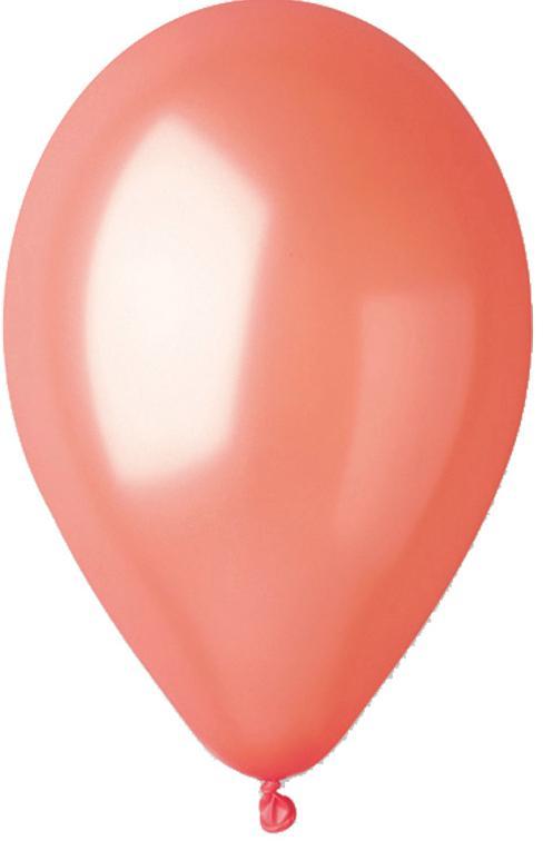 Ballons métallisés Saumon pas cher