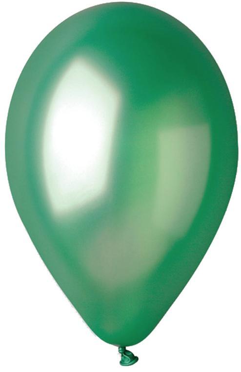 Ballons métallisés Vert Sapin pas cher