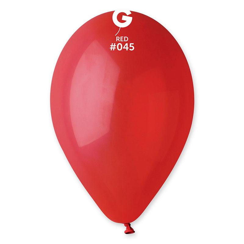 Ballons rouges biodégradables pas cher