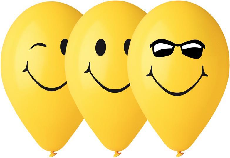 Ballons Smile en Latex pas cher