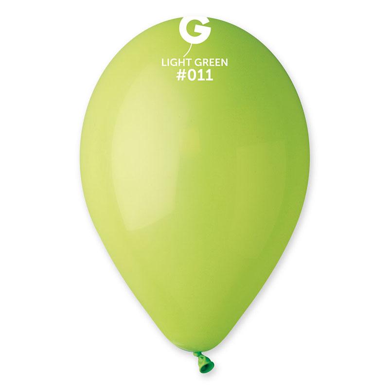 Ballons vert pastel pas cher