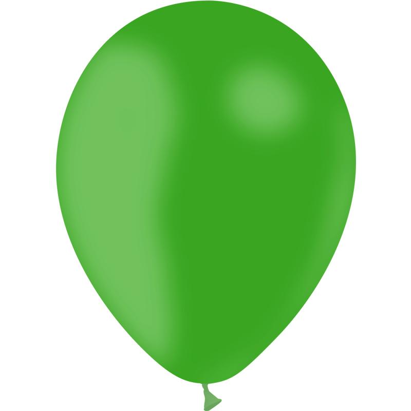 Ballons verts biodégradables pas cher