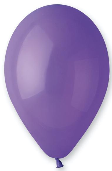 Ballons violets biodégradables pas cher
