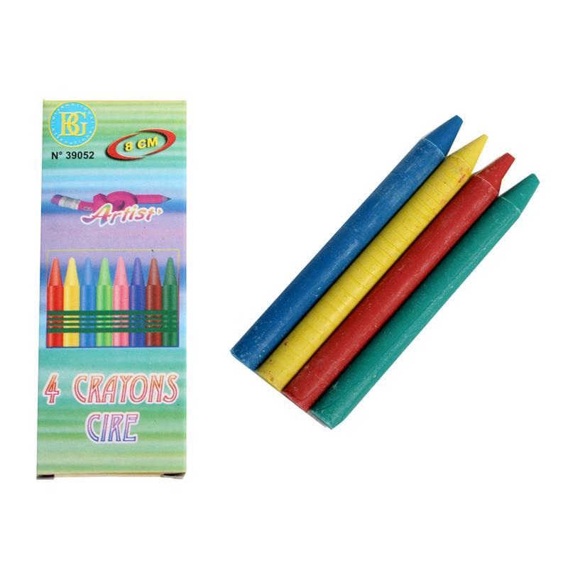 Boîte de 4 crayons à cire pas cher